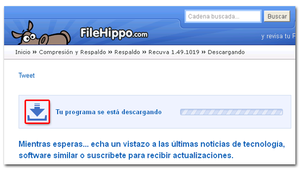 Descarga desde FileHippo